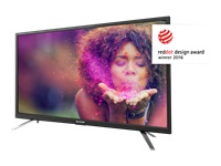 """Sharp LC-24DHG6131K - 24"""" Class - Aquos G6130 series LED TV - with built-in DVD player - Smart TV - 720p 1366 x 768 - E-LED Backlight"""