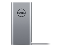 Dell Notebook Power Bank Plus PW7018LC - External battery pack - 1 x lithium ion 65 Wh - silver - for Latitude 5300, 54XX, 55XX, 72XX 2-in-1, 73XX, 74XX; Precision Mobile Workstation 55XX