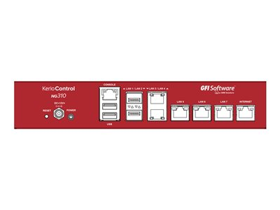 Kerio Control NG310 Security appliance GigE GFI Unlimited desktop