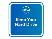 Dell 3Y Keep Your Hard Drive - Extended service agreement