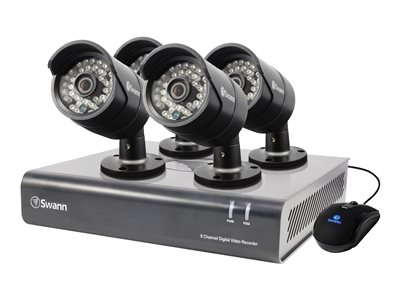 Swann SWDVK-844004 DVR + camera(s) 8 channels 1 x 1 TB 4 camera(s)