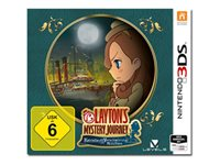 Layton's Mystery Journey Katrielle and the Millionaires' Conspiracy - Nintendo 3DS, Nintendo 2DS