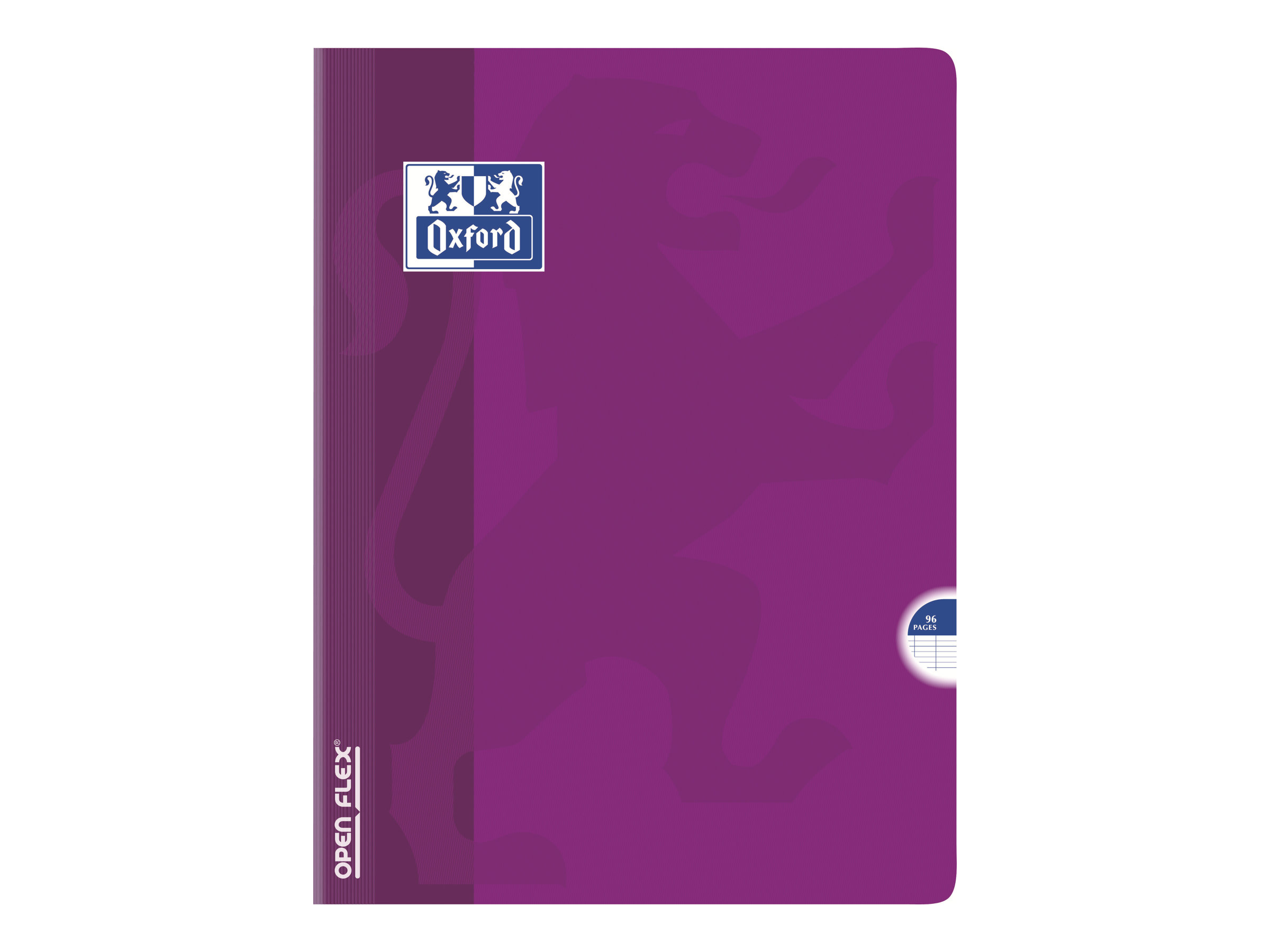 Oxford Open Flex Cahier Polypro 24 X 32 Cm 96 Pages