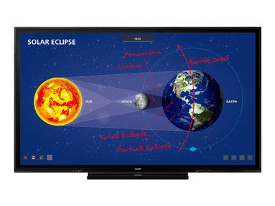 Sharp PN-C861H 86INCH Class (85.6INCH viewable) Aquos Board LED display interactive