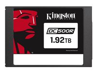 "Kingston Data Center DC500R - Solid state drive - encrypted - 1920 GB - internal - 2.5"" - SATA 6Gb/s - AES - Self-Encrypting Drive (SED)"