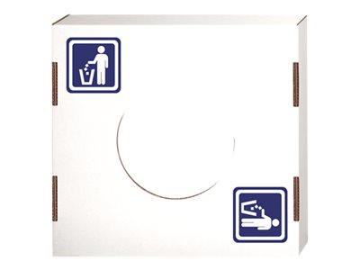 Bankers Box Waste basket lid white