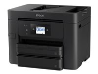 Epson WorkForce Pro WF-4730DTWF - Imprimante multifonctions - couleur - jet d'encre - A4/Legal (support) - jusqu'à 34 ppm (impression) - 500 feuilles - 33.6 Kbits/s - USB 2.0, LAN, Wi-Fi(n), hôte USB, NFC
