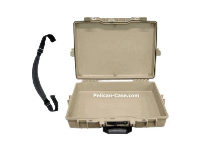 Pelican Laptop Computer Protector Case 1495 No Foam Notebook carrying case 17INCH des