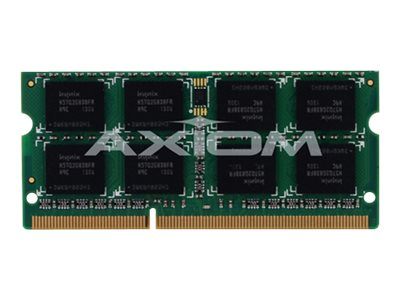 Axiom AX - DDR3 - 2 GB - SO-DIMM 204-pin - unbuffered