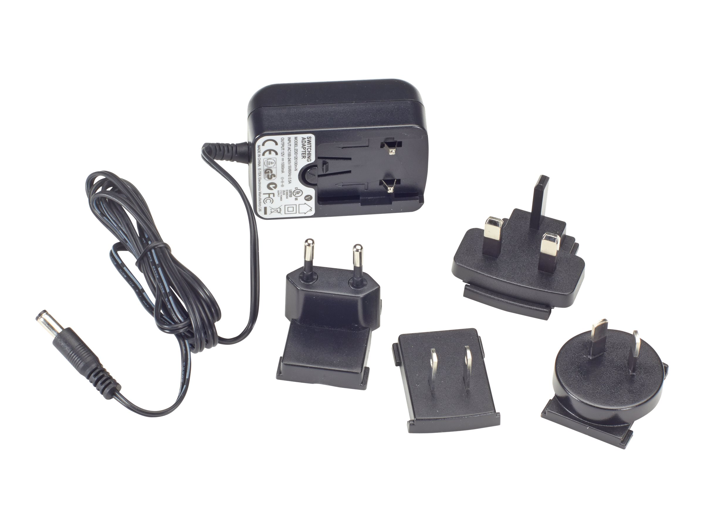 Black Box Spare Power Supply for the ServSwitch DVI/HDMI + USB Extender Kit - Power adapter