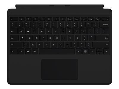 Microsoft Surface Pro X Keyboard - keyboard - with trackpad - QWERTY - US - black