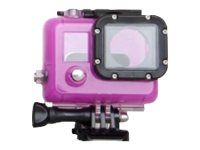 Urban Factory Waterproof Case Pink: for GoPro Hero3 and 3+ - marine case for camera