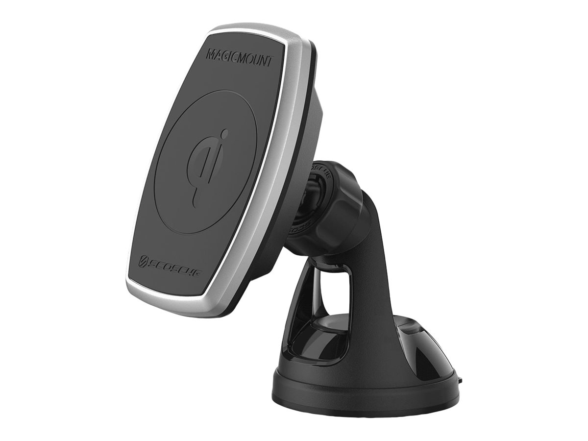 Scosche MagicMount Pro Charge car wireless charging holder - + car power adapter
