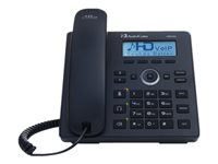 AudioCodes 420HD SIP IP Phone VoIP phone SIP, SDP 2 lines black