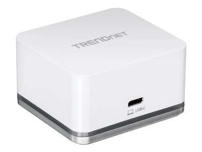 TRENDnet TUC-DS1 Mini USB-C HD Docking Cube Docking station USB-C HDMI GigE 18.