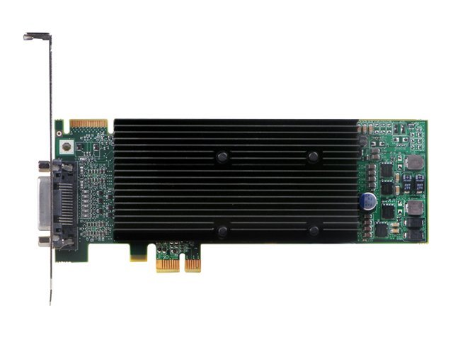 Matrox M9120 Plus LP - Grafikkarten - 512 MB DDR2 - PCIe Low Profile