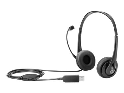 HP Kabling Sort Headset