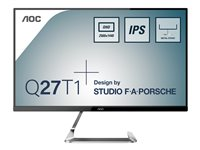AOC Q27T1 27' 2560 x 1440 HDMI DisplayPort 60Hz
