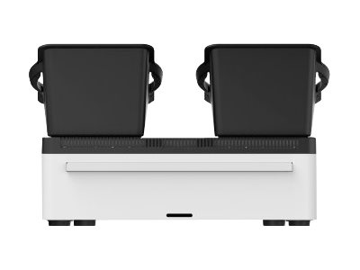 Belkin Store and Charge Go with portable trays - Ladestation - Ausgangsbuchsen: 10