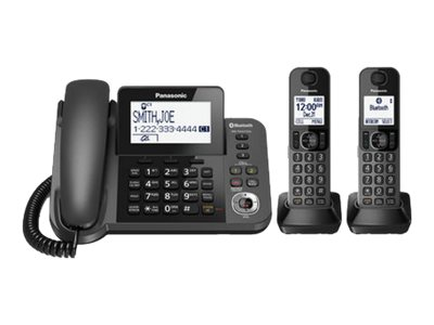 Panasonic KX-TGF382M Corded/cordless answering system with caller ID/call waiting