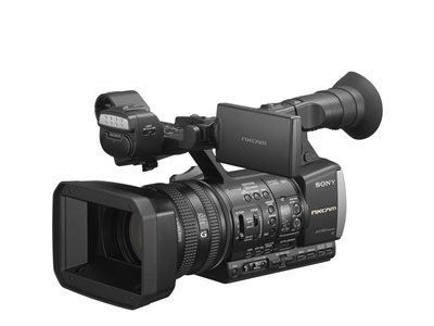 Sony NXCAM HXR-NX3/1 Camcorder 1080p 2.41 MP 20x optical zoom flash card Wi-