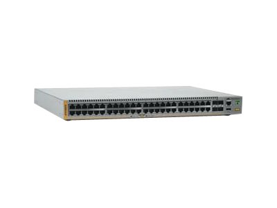 Allied Telesis AT X510-52GTX - Switch - L2+ - verwaltet - 48 x 10/100/1000 + 2 x 10 Gigabit Ethernet / 1 Gigabit Ethernet SFP+ + 2 x 10 Gigabit SFP+ - an Rack montierbar