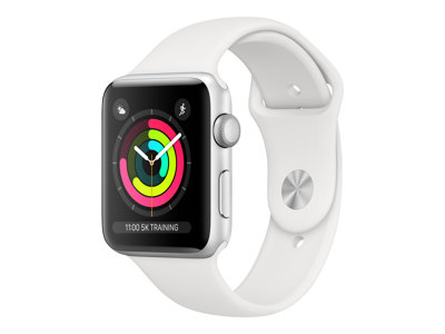 Apple Watch Series 3 (GPS) 38 mm Sølv Smart ur