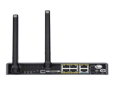 Cisco 819 4G LTE M2M Gateway Router WWAN 4-port switch