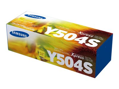 Samsung CLT-Y504S Yellow original toner cartridge (SU506A)