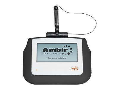 Ambir nSign 110 Signature terminal w/ LCD display 4 x 2 in wired USB