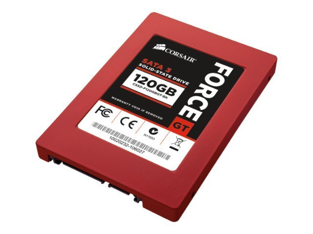 Corsair Force Series GT - Solid-State-Disk - 120 GB - SATA-600
