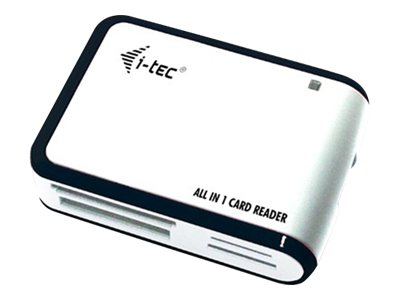 i-Tec USB 2.0 All-in-One Reader - Kartenleser - All-in-one (Multi-Format) - USB 2.0