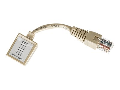 Avocent  Cyclades - Serieller RS-232-Adapter - RJ-45 (M) bis RJ-45 (W)