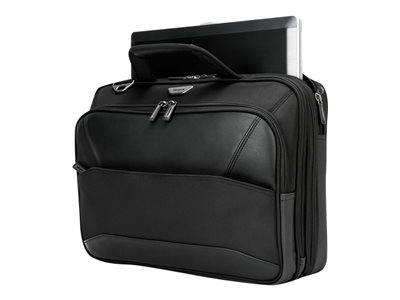 Targus Mobile VIP Topload Notebook carrying case 15.6INCH black