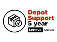 Lenovo Depot/Customer Carry In Upgrade - Extended service agreement - parts and labor (for system with 3 years depot or carry-in warranty) - 5 years (from original purchase date of the equipment) - for ThinkPad P1; P40 Yoga; P50; P51; P52; P53; P70; P71; P72; P73; W540; W541