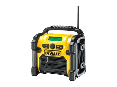 DeWALT DCR019-QW Jobsteds-radio Gul Sort