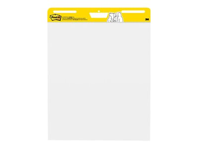 Post-it Super Sticky Easel pad 25 in x 30 in 180 sheets (6 x 30) white