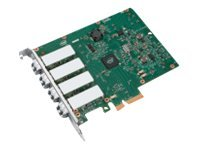 Intel Ethernet Server Adapter I340-F4 - Netzwerkadapter - PCIe 2.0 x4 - 1000Base-SX x 4