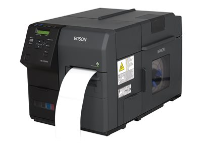 Epson ColorWorks C7500G Label printer color ink-jet Roll (4.41 in x 5.2 ft)  image