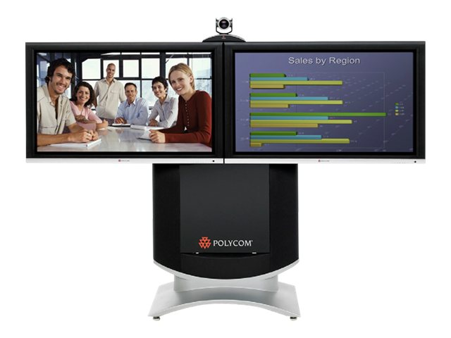Poly - Polycom HDX Executive Collection 8000-720 2ET - video conferencing kit