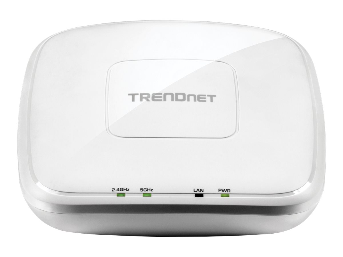 TRENDnet TEW 821DAP AC1200 Dual Band PoE Access Point - Drahtlose Basisstation - Wi-Fi - Dualband