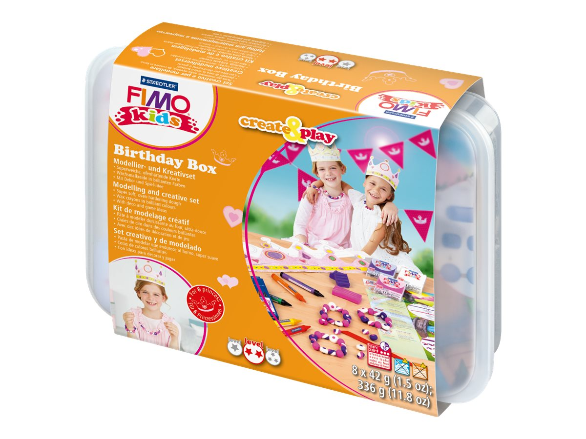 Fimo Kids Create Play Kit De Pate A Modeler Differents Modeles