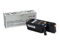Xerox WorkCentre 6027 - Cyan - original - toner cartridge - for Phaser 6020V_BI, 6022/NI, 6022V_NI; WorkCentre 6025V_BI, 6027/NI, 6027V_NI