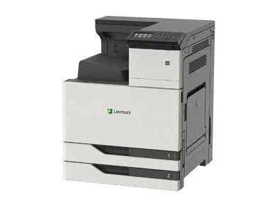 Lexmark CS921DE - Printer - color - Duplex - laser - Tabloid Extra (12 in x 18 in), SRA3 - 1200 x 1200 dpi - up to 35 ppm (mono) / up to 35 ppm (color) - capacity: 1150 sheets - USB 2.0, Gigabit LAN, USB 2.0 host - government GSA