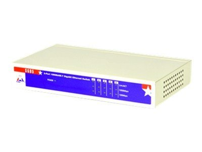 Amer SGD5 Switch unmanaged 5 x 10/100/1000 desktop
