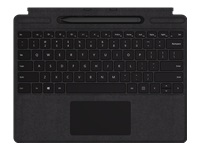 Microsoft Surface Pro X Signature Keyboard with Slim Pen Bundle - Keyboard - with trackpad - backlit - English - North American layout - black - commercial - for Surface Pro X