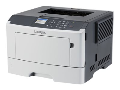 Lexmark MS510dn - Printer - monochrome - Duplex - laser - A4/Legal - 1200 x 1200 dpi - up to 42 ppm - capacity: 350 sheets - USB, Gigabit LAN