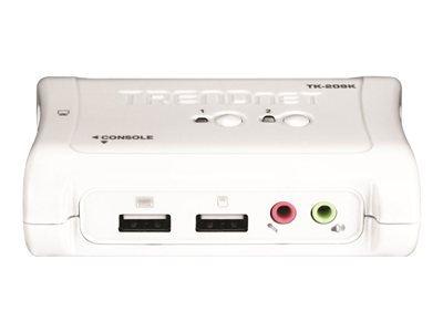 TRENDnet TK 209K KVM / audio-switch Desktop