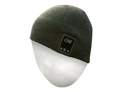 Chill Innovation Chill Wireless Bluetooth Headphone Beanie Trådløs Grå Hovedtelefoner