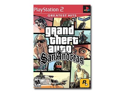 Grand Theft Auto San Andreas Greatest Hits PlayStation 2